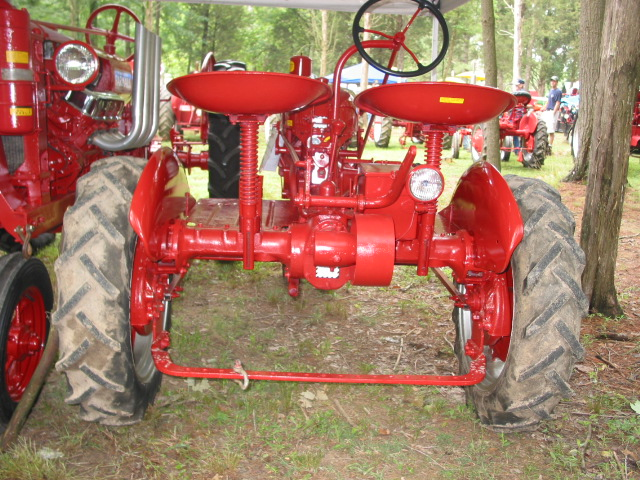 Farmall Super A Seat : Farmall cub to regular general ih red power