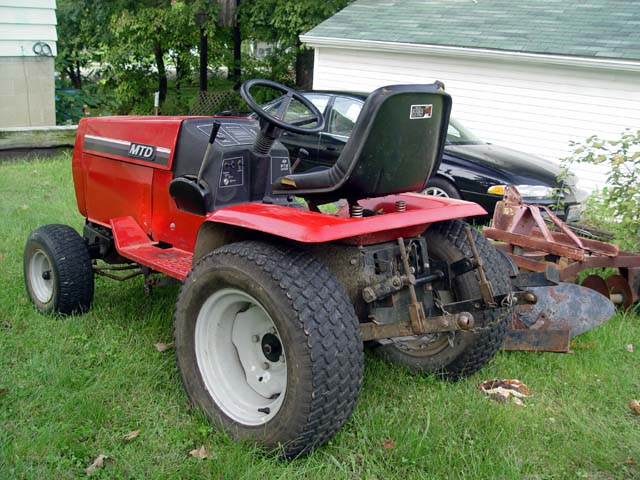 Mtd Yardman Tractors : Mtd garden tractor id forum gttalk