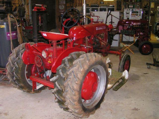 Dual Ih Tractors On Wheels : Rear dual wheels farmall cub