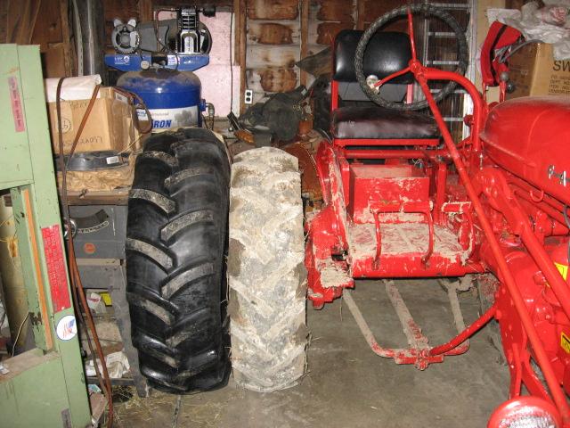 12 4x24 Tractor Tires : Cub tires farmall