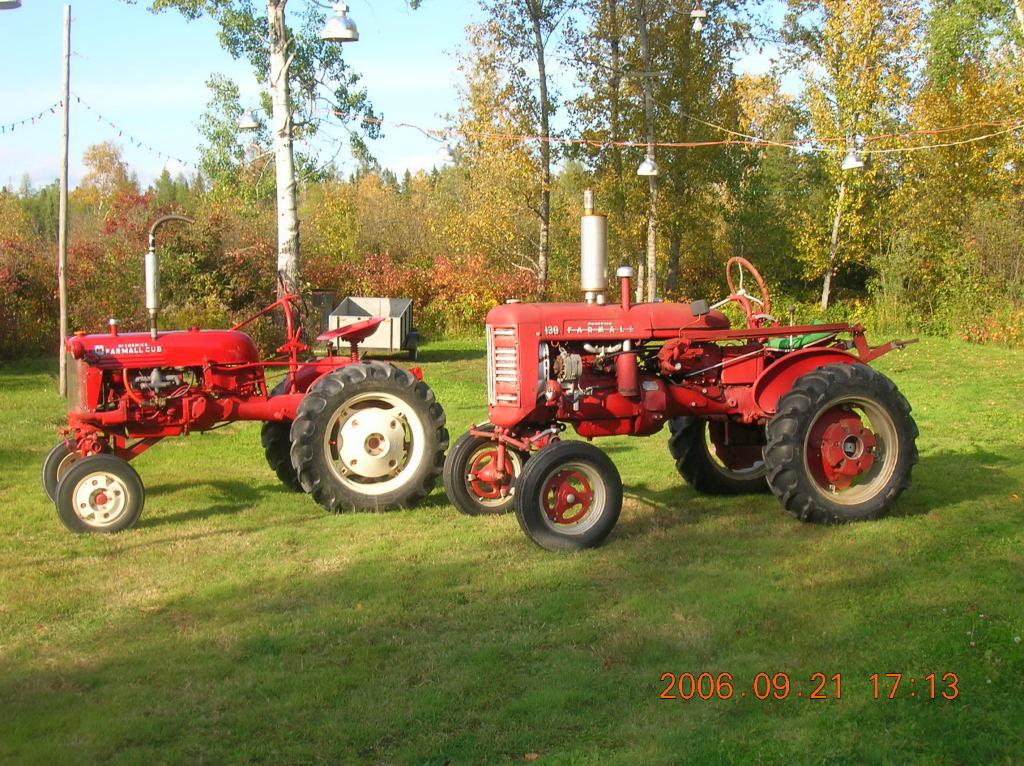Farmall 130 Tractor : Farmall yesterday s tractors