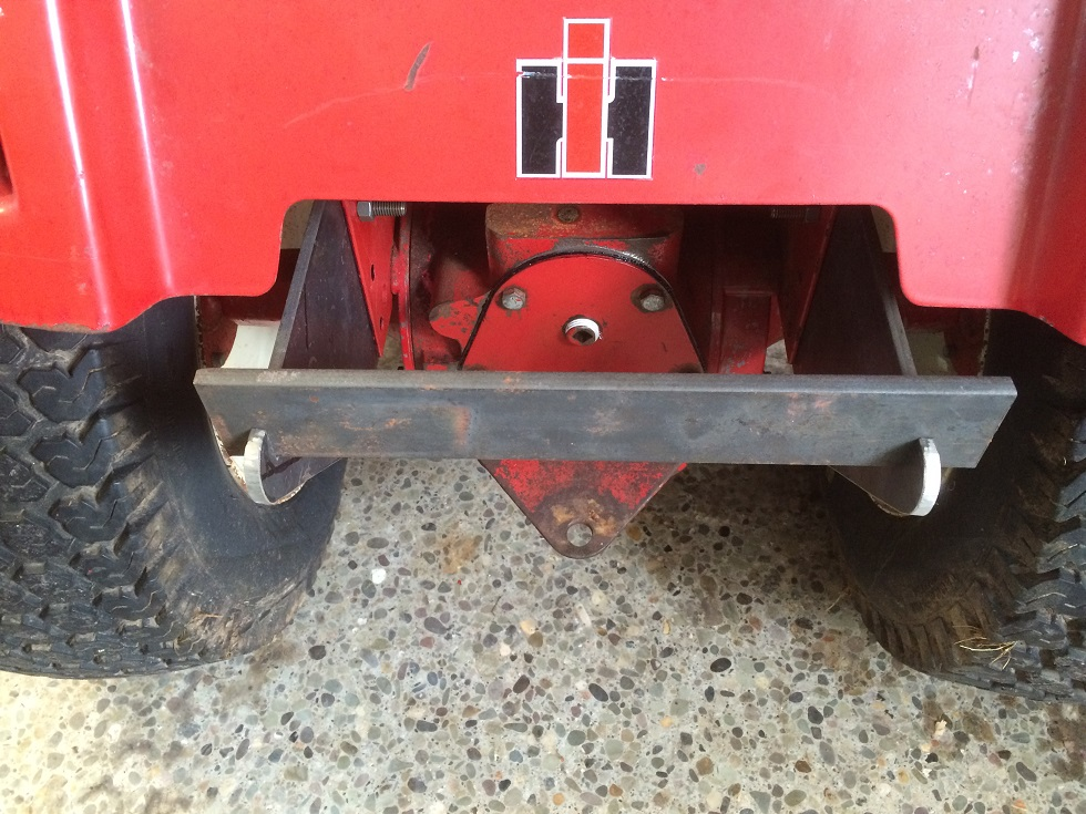 Cub Cadet Rear Weights : Cc added a little weight farmall cub