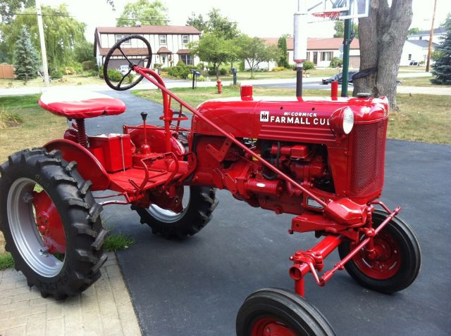Another One Brought Back Farmall Cub