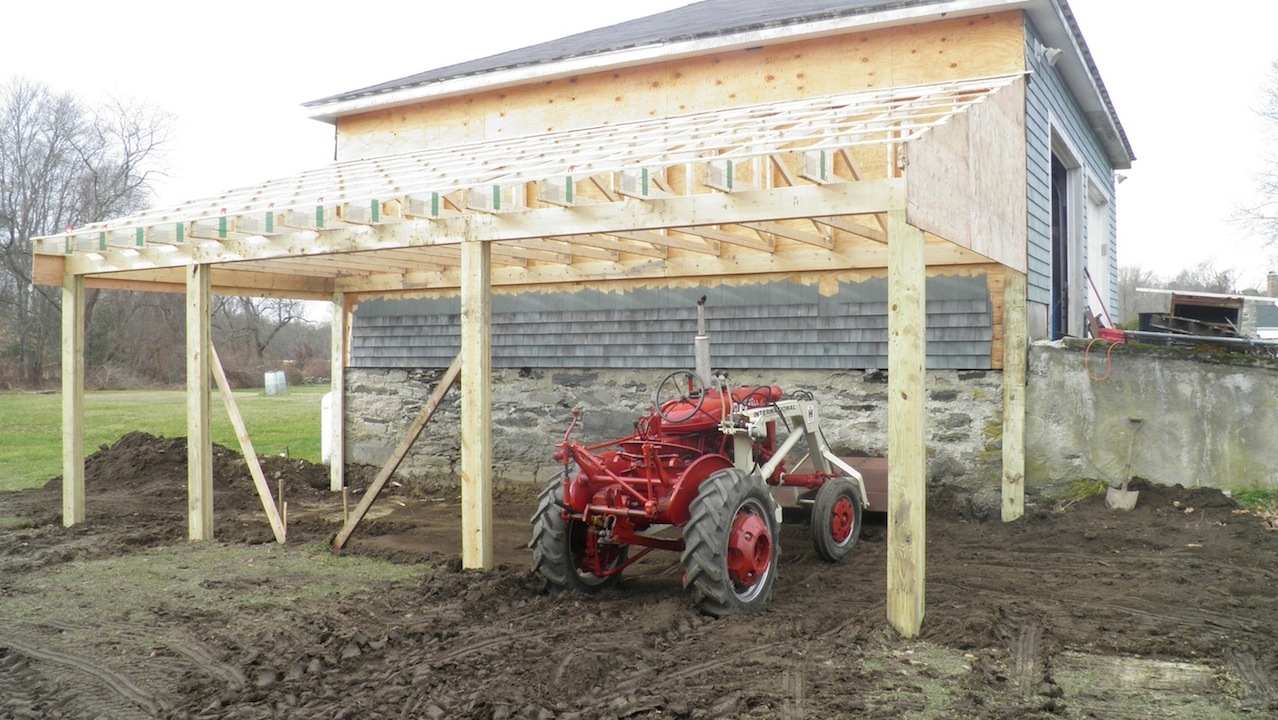 The Tractors Antique Tractor Shed : Just in homage to the university of southwestern