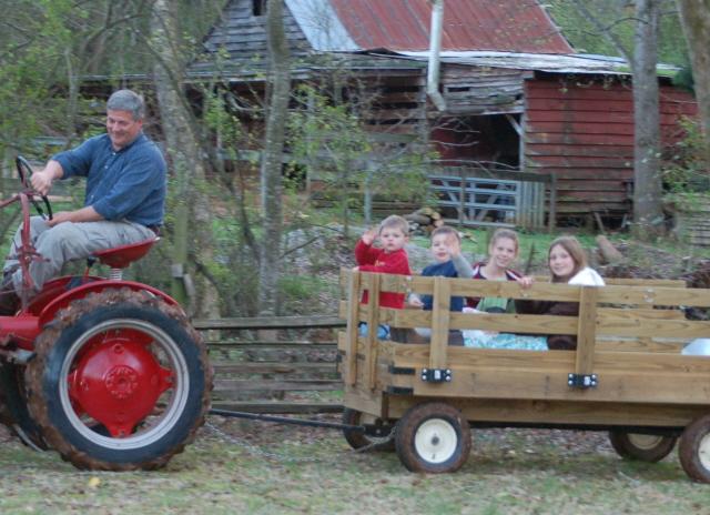 Wagon Farmall Cub