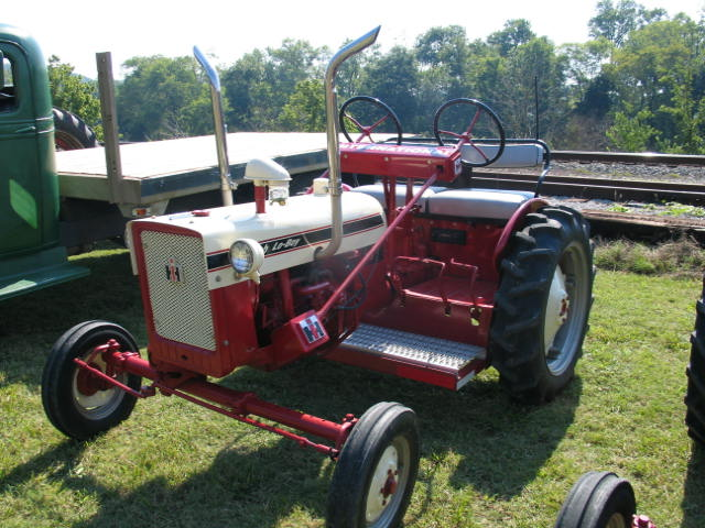 Seat For Farmall Tractor : Two seater farmall cub