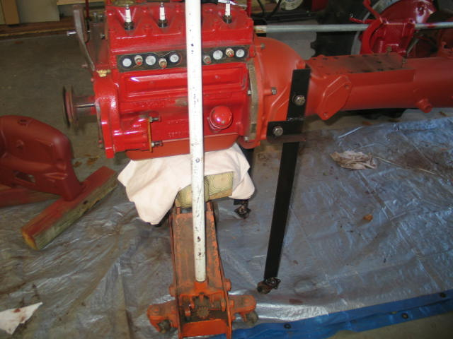 Ih Splitting Stands : Cub splitting stand based on kodiak s farmall