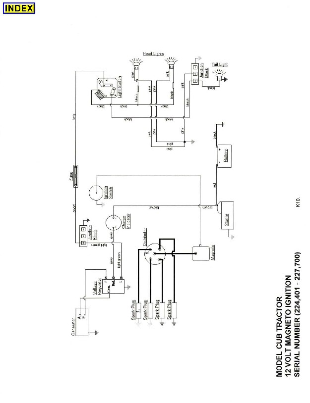cub farmall light switch wiring diagram  cub  free engine