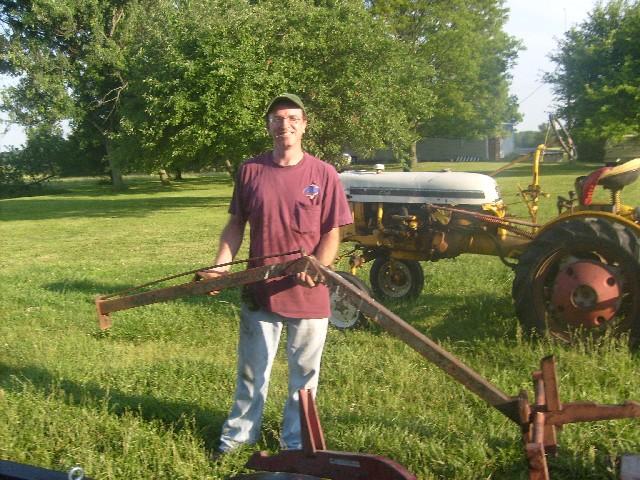 Tractor Boom Pole Lift : Boom pole farmall cub