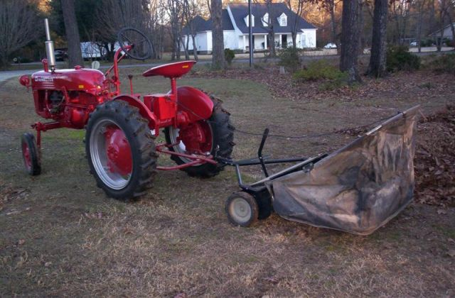 Seat For Farmall Tractor : Seat time farmall cub