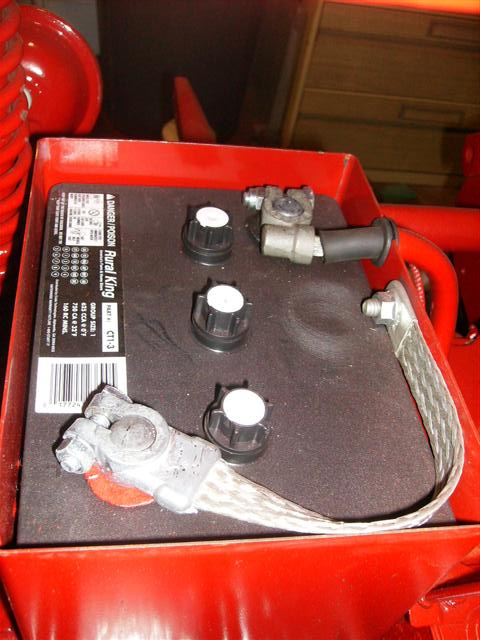 Farmall H Battery : Correct battery cable farmall cub
