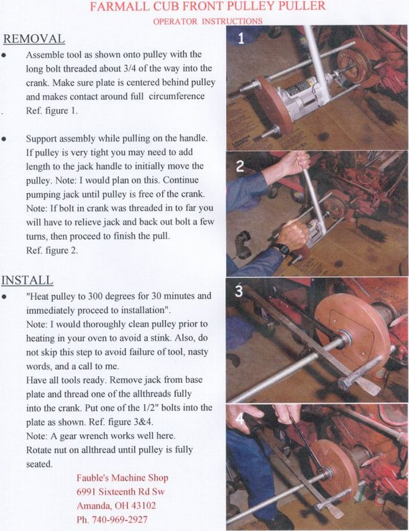 Fan Drive Pulley Installation Question