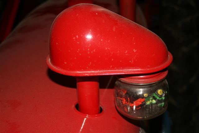 Farmall Cub Air Cleaner : Pics added what glass jar type for a cub pre air cleaner