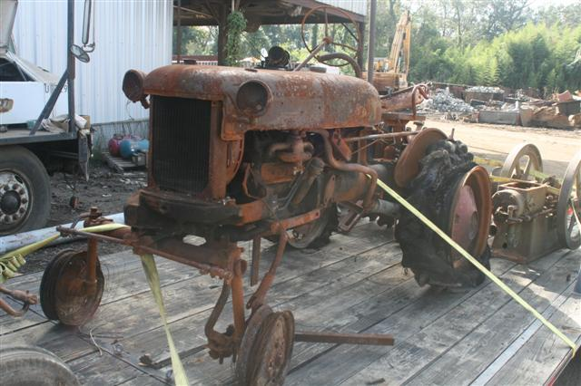 International Tractor Salvage Yard : Saved from the salvage yard farmall cub