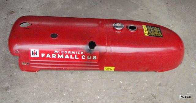 International Tractor Fuel Tanks : Gas tank rebuild question farmall cub
