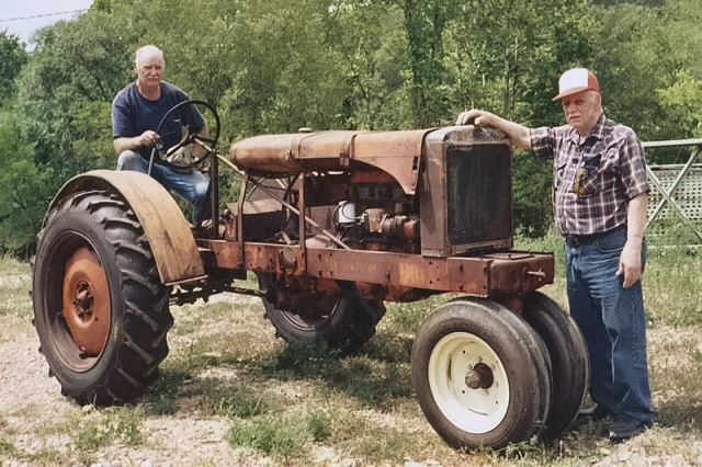 Wc Case Tractor : Wc allis chalmers farmall cub