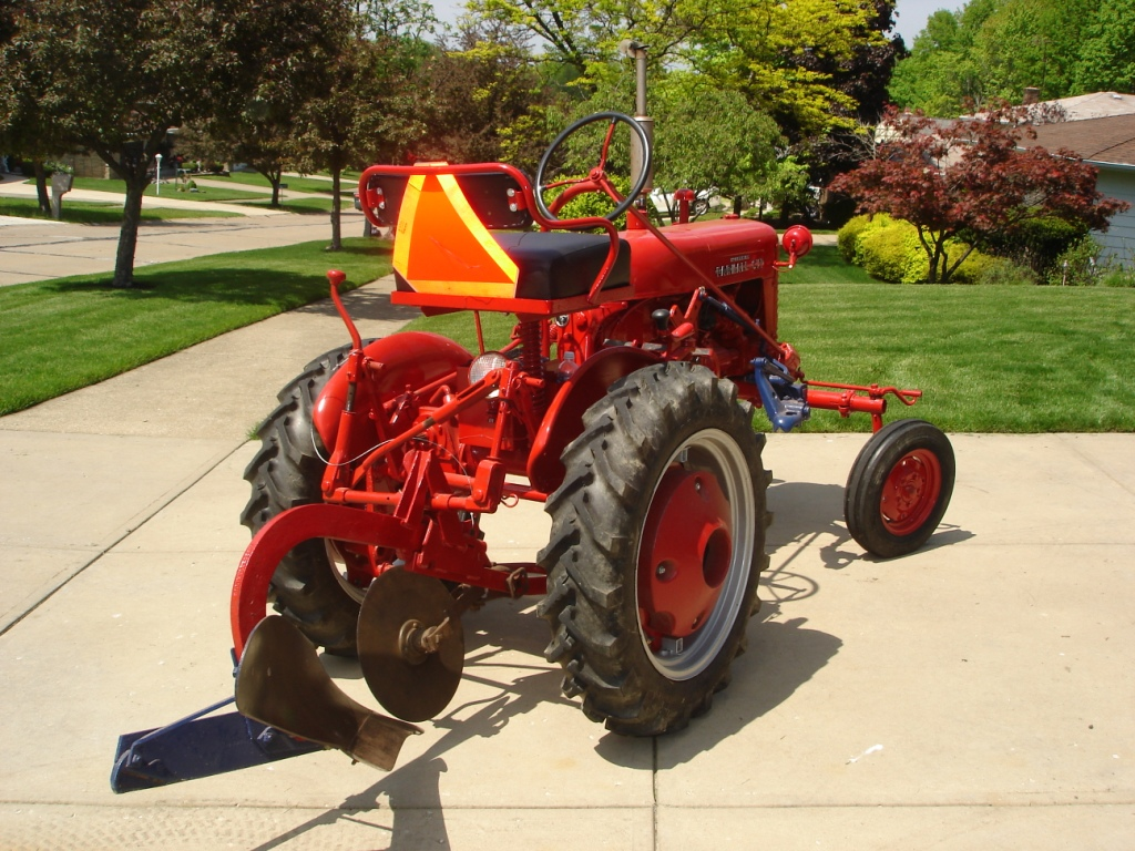 Farmall Super A Seat : Dry at last farmall cub