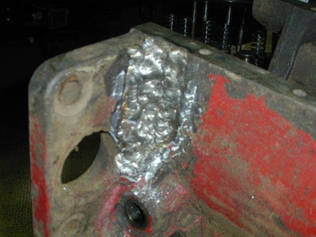 Engine Block Crack