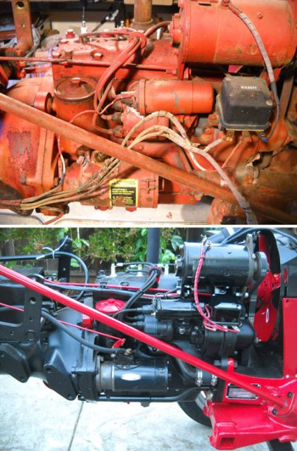 wiring harness routing farmall cub image