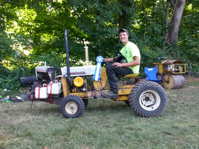 Lawn Garden Tractor Pulling : Tolland county h fair lawn garden tractor pull